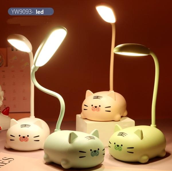 Bảng giá Đèn ngủ kiêm đèn học pin sạc đa năng dễ thương YW909