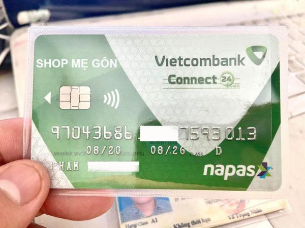 combo 20 bìa đựng thẻ ATM, CAR VISIT chống xước