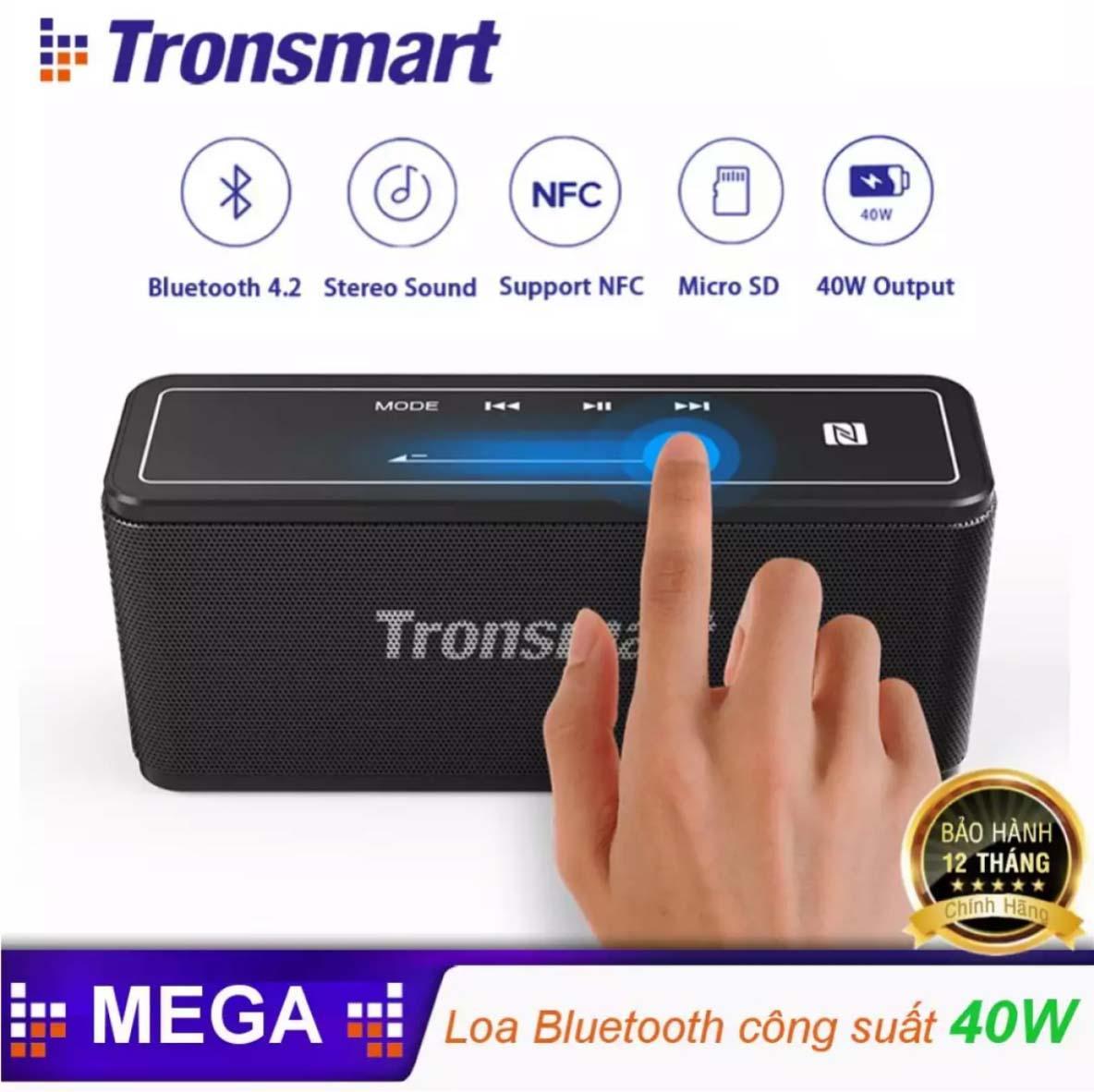 Loa Tronsmart Element Mega  Loa Bluetooth 5.0 di động công suất 40W - BẢO HÀNH 12 THÁNG