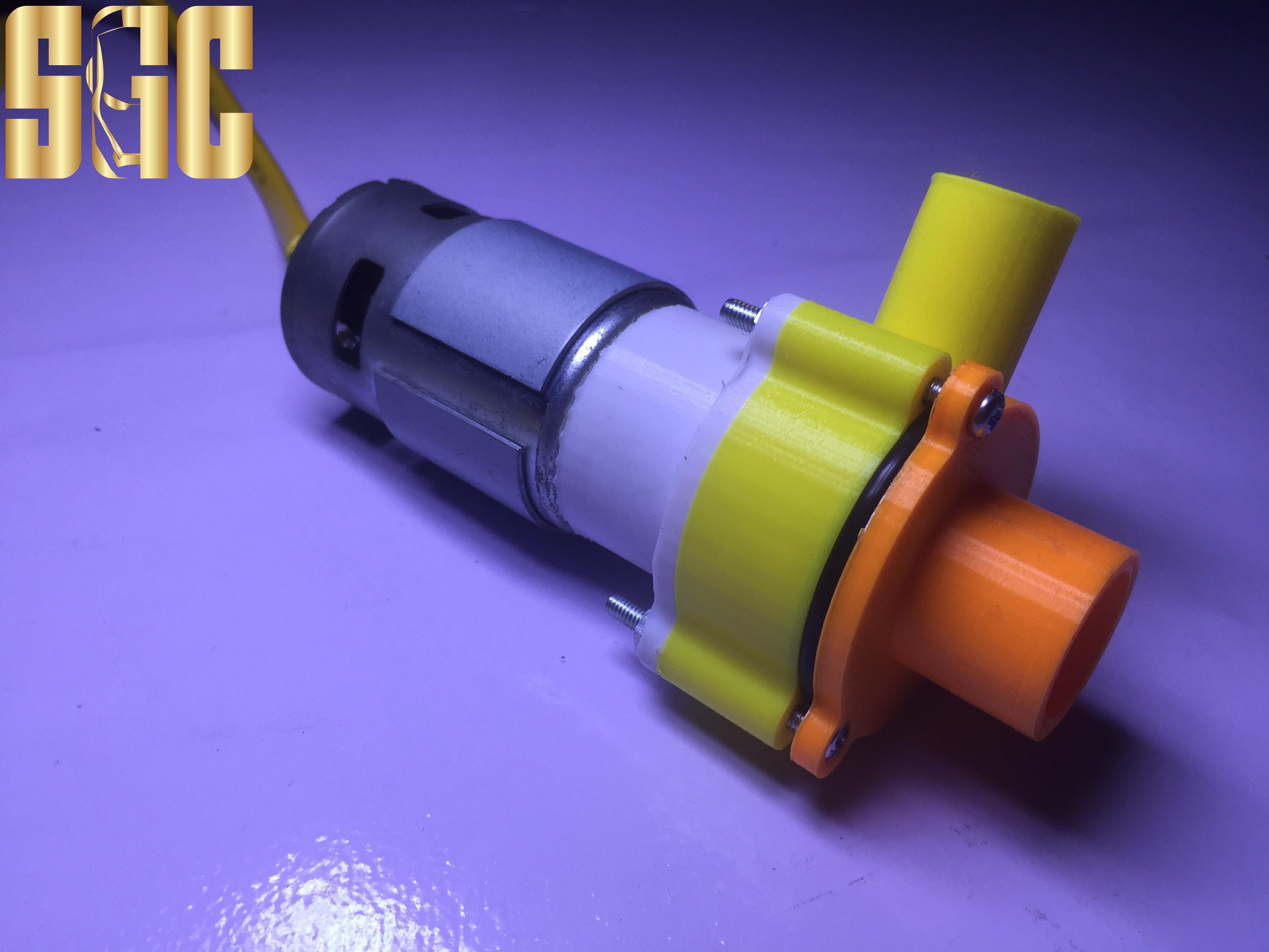 Máy bơm nước mini 12V 150W 70L/phút