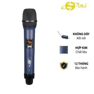 Micro karaoke không dây cao cấp JSJ W-14 tích hợp màn hình led chuyên nghiệpbề mặt sử dụng công nghệ sơn tĩnh điện tích hợp pin lithium 18650 dễ dàng mang theo phạm vi kết nối rộng độ nhạy cao khử nhiễu âm thanh trung thực thumbnail