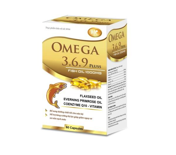 Dầu cá Omega 3.6.9 sáng mắt , đẹp da , tăng sức đề kháng hệ tim mạch