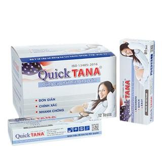 Hộp 12 que thử thai Quicktana 5mm thumbnail