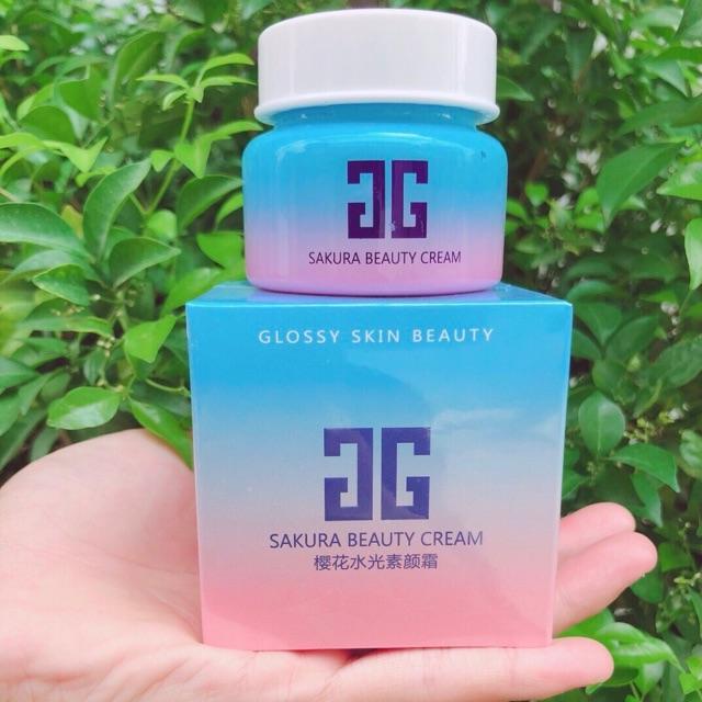 Kem trị nám hoa đào sakura beauty cream