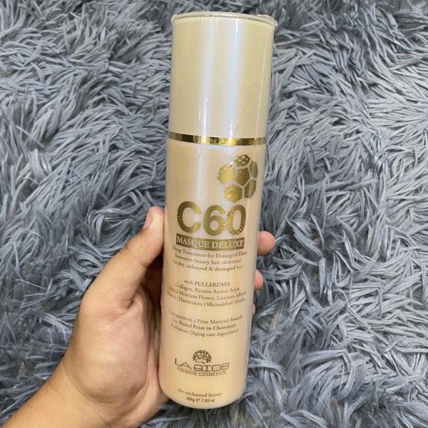 [HCM]Kem dưỡng phục hồi tóc C60 Masque Deluxe Labios 200ml giá rẻ