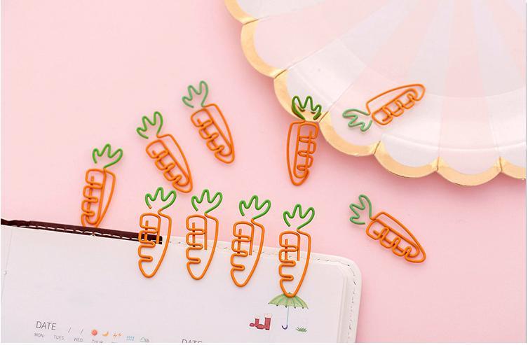 Mua Combo 5 kẹp sắt trang trí hình cà rốt siêu ngộ nghĩnh