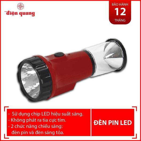Đèn pin Điện Quang ĐQ PFL03 R R (Pin sạc, đỏ)