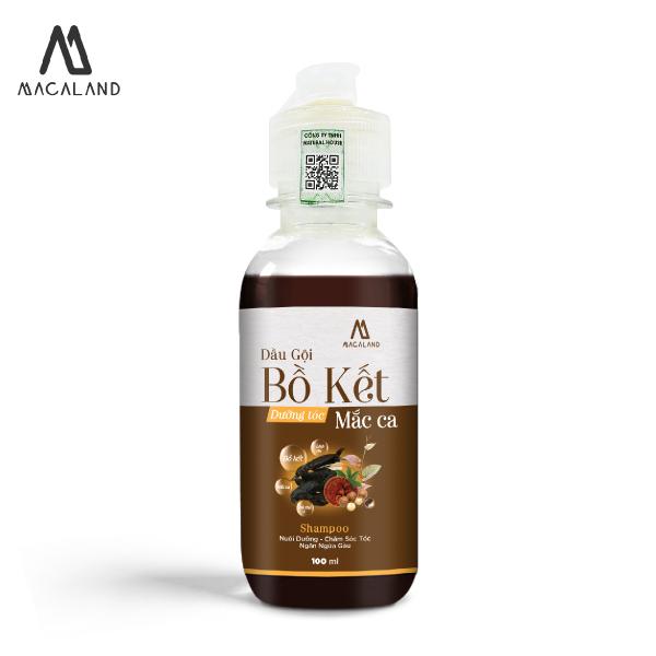 Dầu gội Bồ Kết DƯỠNG TÓC phục hồi hư tổn dầu Macadamia 100ml MACALAND dùng cho mọi loại tóc giá rẻ