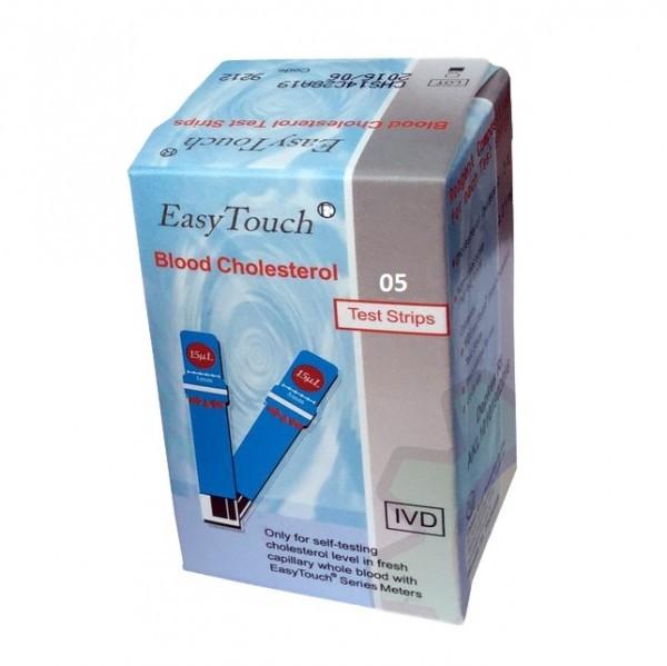 Que thử mỡ máu, cholesterol cho máy đo Easy Touch GCU ET322 (5 que) bán chạy