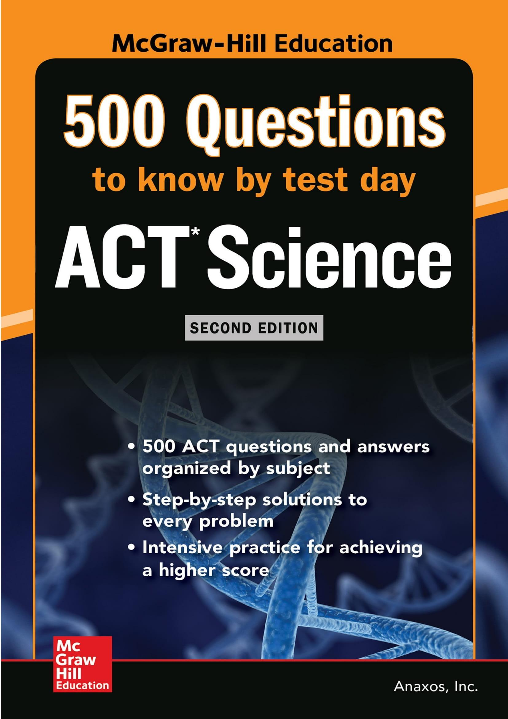Mua 500 ACT Science Questions to Know by Test Day, Second Edition