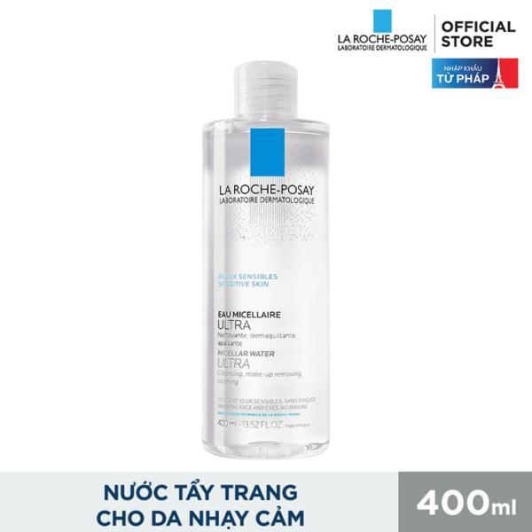 [HÀNG HOT] Nước Tẩy Trang Làm Sạch Sâu Cho Da Nhạy Cảm La Roche-Posay Micellar Water Ultra Sensitive Skin 400ml - Loại bỏ mọi bụi bẩn, lớp makeup trên khuôn mặt, Mang lại cảm giác tươi mới tức thì.BH 1 ĐỔI 1