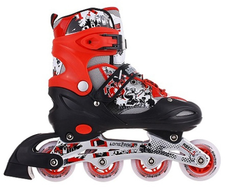 Mua Giày trượt Patin trẻ em cao cấp Long Feng 906 - Đen, hồng, đỏ, xanh ĐỒ TẬP TỐT