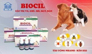 BIOCIL Đặc Trị Ve Rận, Bọ Chét, Nội Ngoại Ký Sinh Trùng thumbnail