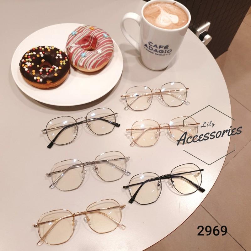 Giá bán Gọng kính cận thời trang  Gọng kim loại 2969