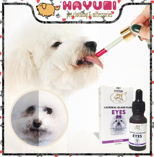 SIRO hỗ trợ bớt chảy nước mắt chó mèo Lacrimal Gland Fluid EYES - HAYUMI