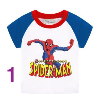 áo phông cho bé mẫu SPIDER MAN thumbnail