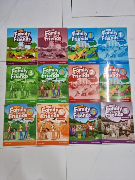 Trọn bộ Family and Friends 2nd full level cho bé học tiếng anh hiệu quả