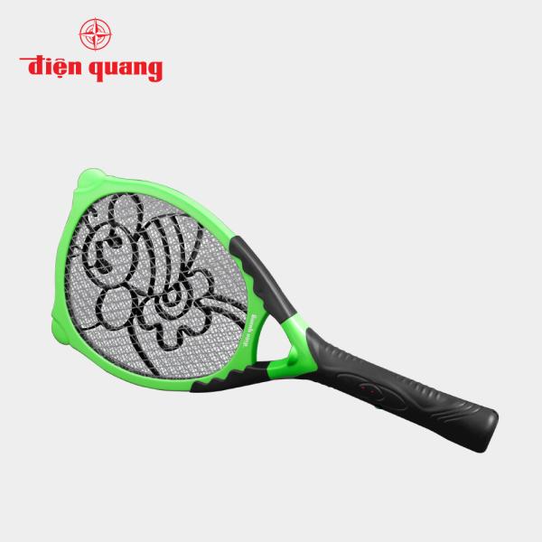 Vợt muỗi Điện Quang ĐQ EMR03 BLG (Đen - xanh lá)