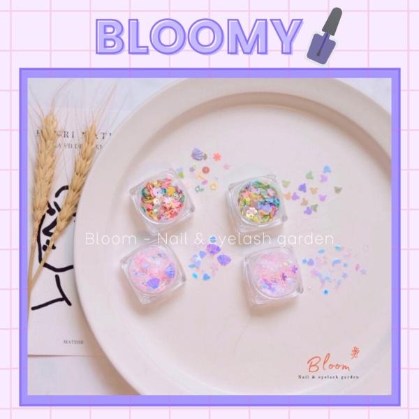 Set trang trí nail hình mickey hỗn hợp , trang trí móng tay set 4 hũ - Phụ Kiện Nail Đẹp - Bloomy Nails & Accessories
