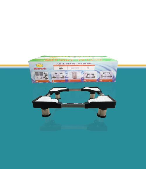 Giá Chân Kê, Giá Đỡ Tủ Lạnh Máy Giặt Thông Minh Khung Inox - KT: 55-77cm