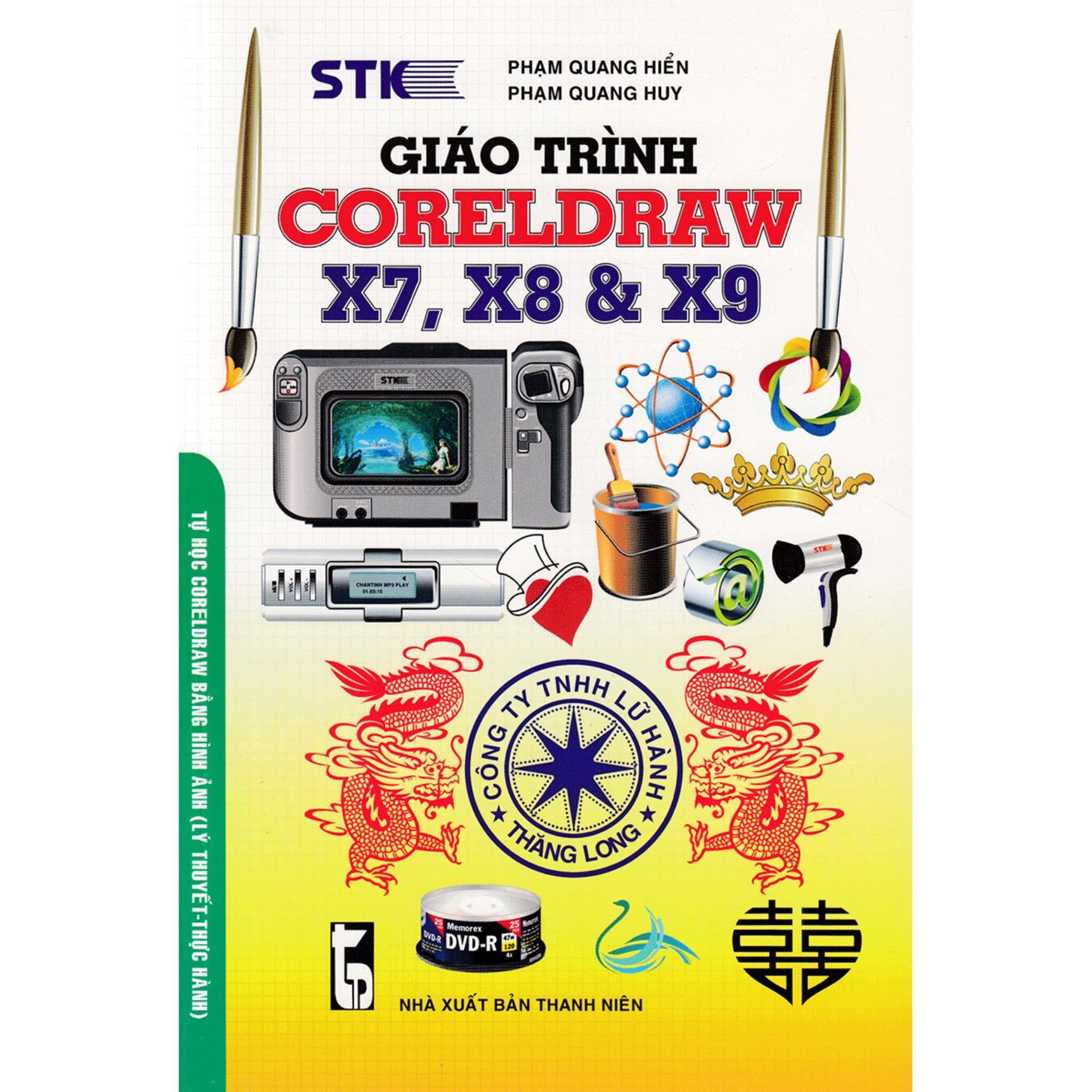 Mua Giáo Trình Coreldraw X7, X8 & X9