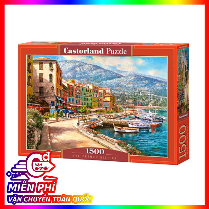 Mã Giảm Giá tại Lazada cho Xếp Hình Puzzle The French Riviera 1500 Mảnh Castorland