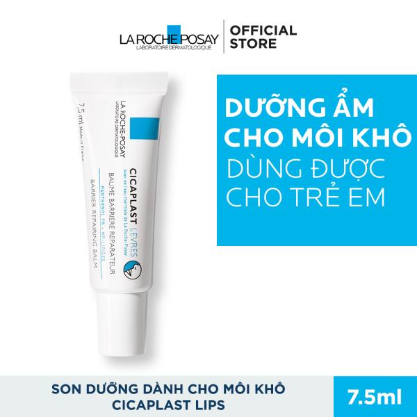 Kem dưỡng phục hồi độ ẩm và bảo vệ môi La Roche Posay Cicaplast Lips 7.5ml