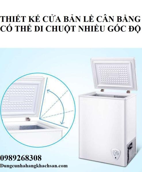 Tủ đông lạnh Amoi 106L- freezer 106L- Phiên bản 2020-Trữ sữa mẹ, thực phẩm-Hàng nội địa Trung Quốc- Bảo hành 1 năm