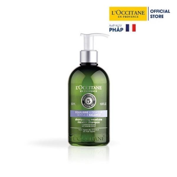 Dầu Gội Gentle & Balance Dành Cho Mọi Loại Tóc Aromachologie Gentle & Balance Micellar Shampoo 500ml