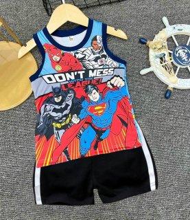 Bộ quần áo bé trai chất liệu thun dày mịn thoáng mát in hình 3D được các bé trai yêu thích (8-40Kg) thumbnail