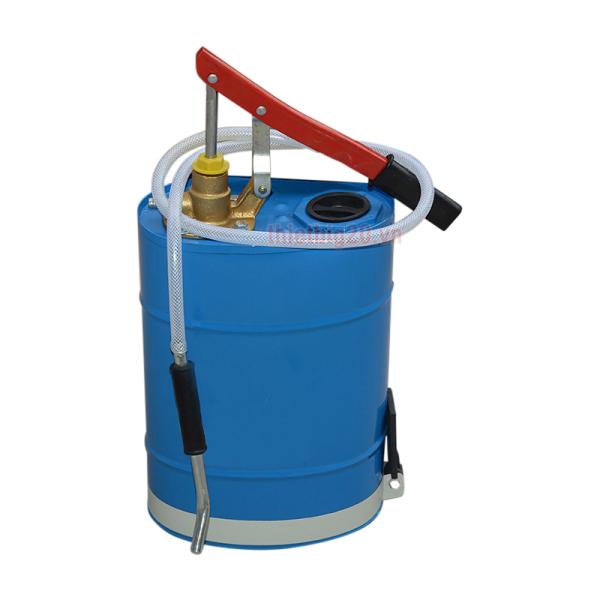 Máy bơm dầu bằng tay, bình bơm dầu cầu dung tích 10L GDC27