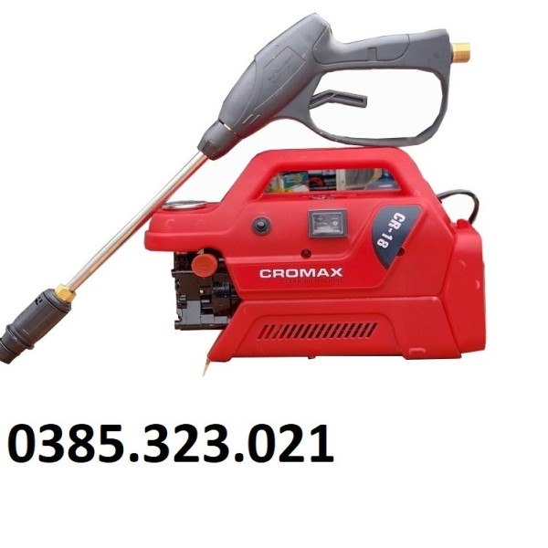 Máy Rửa Xe 1800W Cromax CR-18