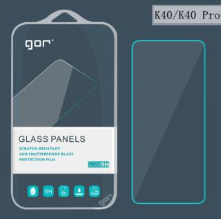 Bộ 2 Kính cường lực cho Xiaomi Redmi K40 , K40 Pro - trong suốt chính hãng GOR vát 2,5D ( 2 miếng) thumbnail