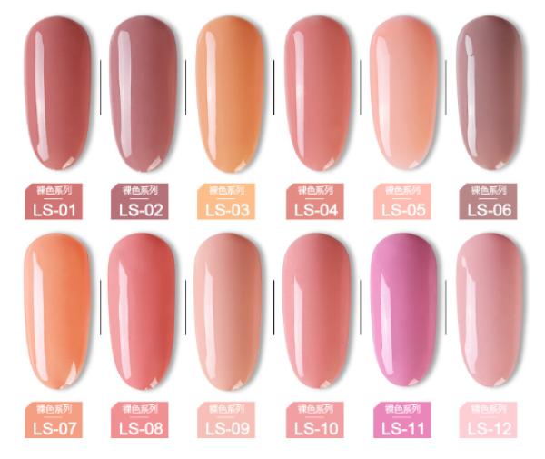 Sơn gel AS - màu hồng nude mã LS