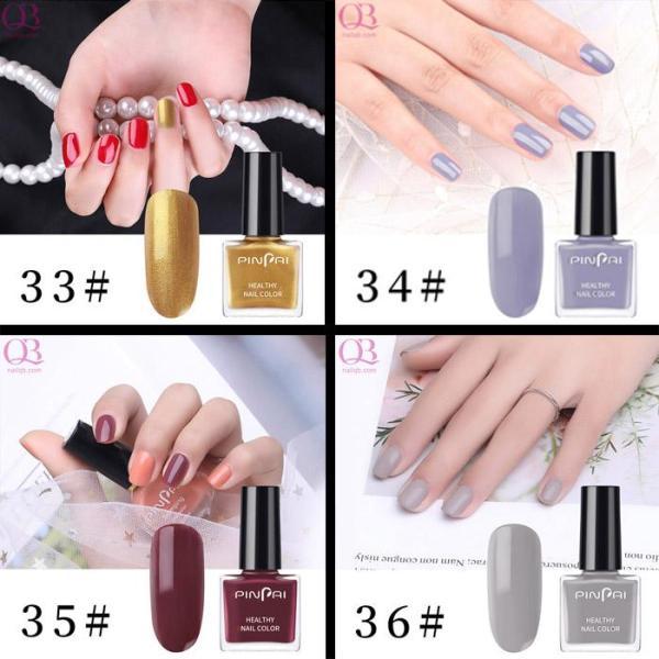Sơn móng tay mini 6ml (sơn thường) không hại móng Pinpai mã 33-36