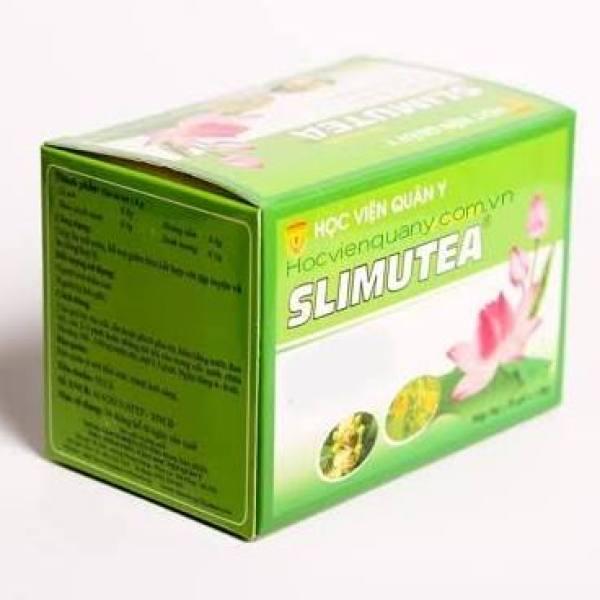 SLIMUTEA - Trà giảm cân túi nhúng, sản phẩm của học viện quân y, giúp hạ mỡ máu, giảm béo