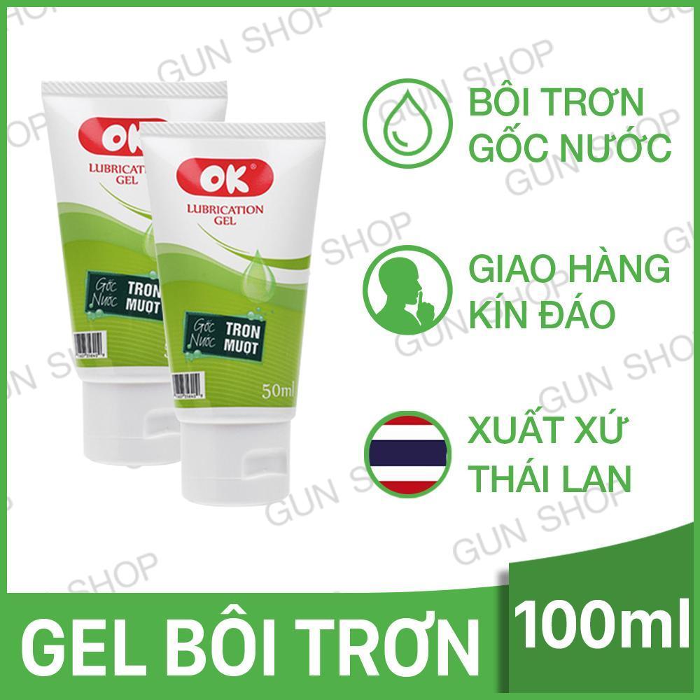 Bộ 2 Gel Ok (Thái Lan) Bôi Trơn Gốc Nước Không Mùi - ToroShop nhập khẩu