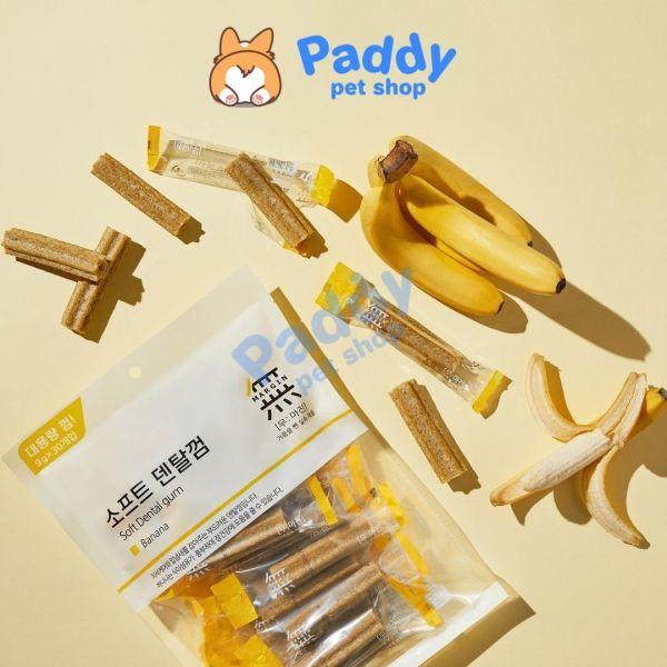 Snack Sạch Răng Cho Chó Bowwow Soft Dental Gum (270g)