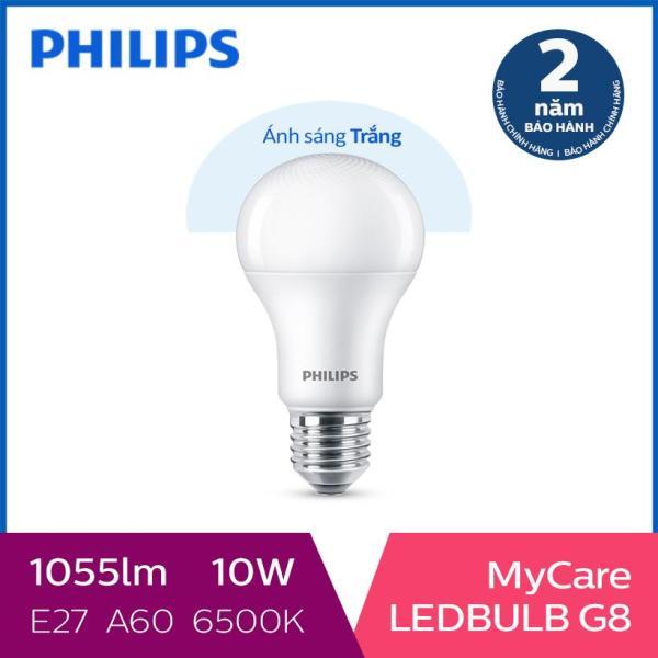 Bóng đèn Philips LED MyCare 10W 6500K E27 A60 (Ánh sáng trắng)