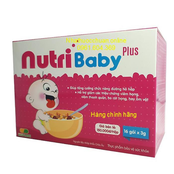 Giá bán NutriBaby Plus