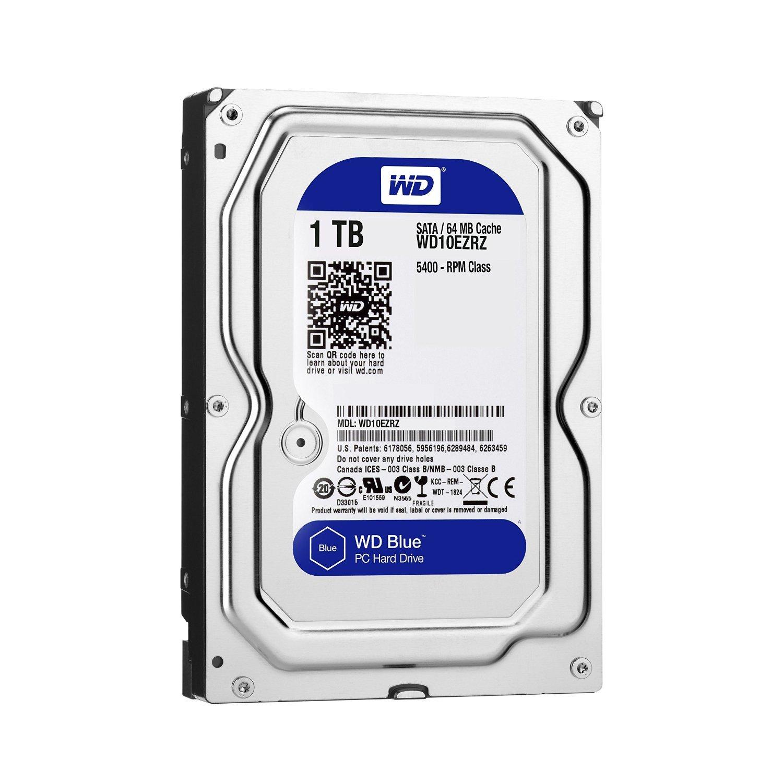 Giá Ổ cứng máy tính HDD WD Blue 1TB 3.5 inch SATA 3 7200RPM WD10EZEX