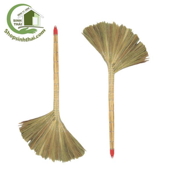 Chổi bông cỏ cột kẽm - chổi quét nhà loại lớn