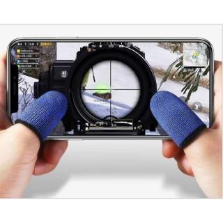 Bao ngón tay chống trơn mồ hôi tay cho game mobile ( 1 cặp ) thumbnail