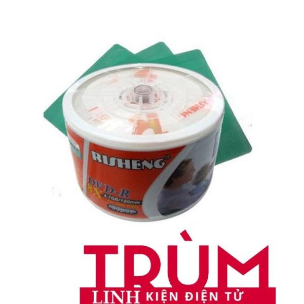 Bảng giá Free Ship- Đĩa DVD trắng RISHENG1 hộp 50 đĩa-DVD TRANG-DVD - Hàng Loại Tốt Phong Vũ