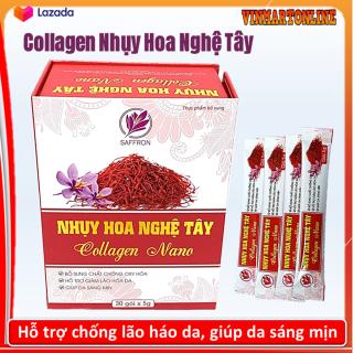 Nhụy Hoa Nghệ Tây Collagen Nano - Giúp Nở Ngực, Cân Bằng Nội Tiết Tố, Làm Đẹp Da, thumbnail