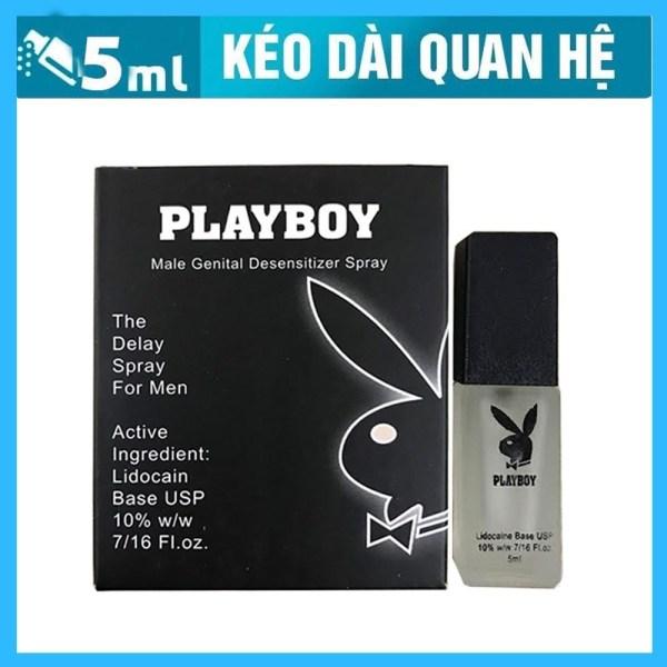 Chai xịt kéo dài thời gian cực lâu Playboy 5ml chuẩn USA giá rẻ