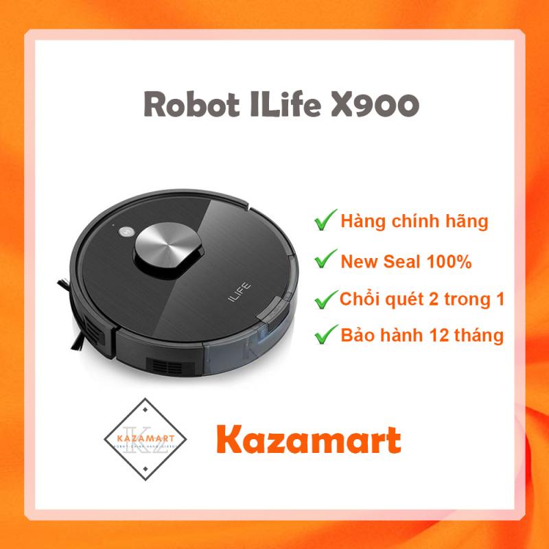 Robot Hút Bụi Lau Nhà ILIFE X900 ✔️ Hàng Chính Hãng ✔️ Giá Tốt ✔️ Bảo Hành 12 Tháng