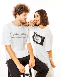 [Xả Hàng Shop Chọn Màu Ngẫu Nhiên Theo Size] Áo thun unisex 100% cotton tay lỡ form rộng Local Brand Midori M Studio thumbnail