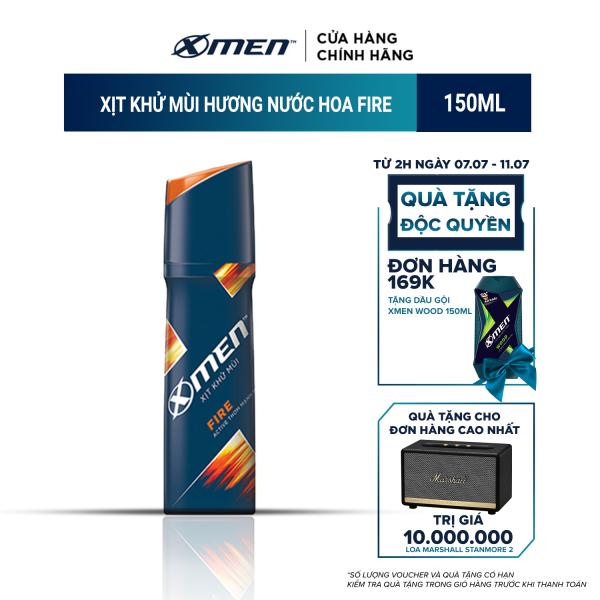 Xịt toàn thân X-men Fire 150ml nhập khẩu