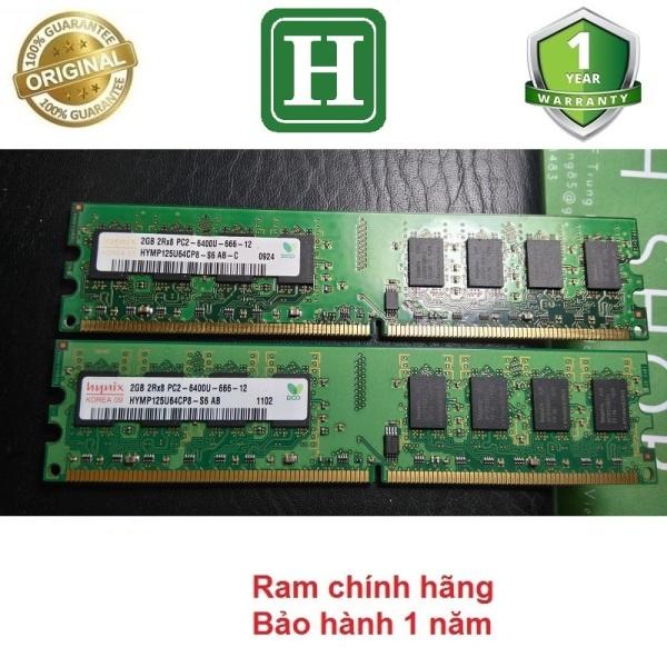 Bảng giá Ram PC DDR2 (PC2) 2Gb bus 800 bảo hành 12 tháng Phong Vũ